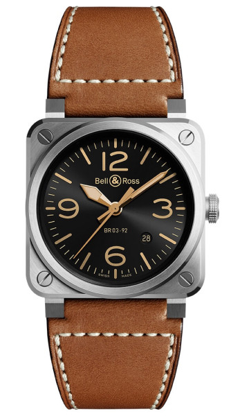 Bell & Ross Armbanduhr Instruments BR 03 BR0392-GH-ST/SCA