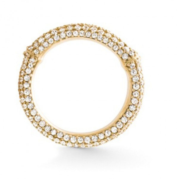 Ole Lynggaard Ring Nature Gelbgold, Pavé A2684-401