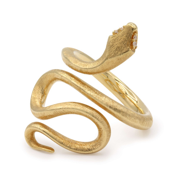 Ole Lynggaard Ring Snakes Gelbgold A2673-401