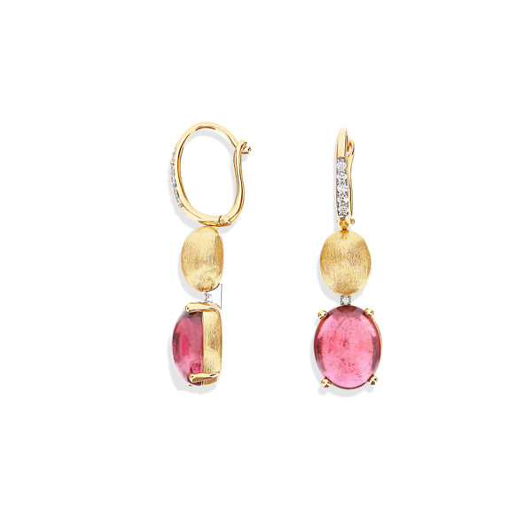 Nanis Ohrstecker Dancing in the Rain Tourmalines Gelbgold OS6-598